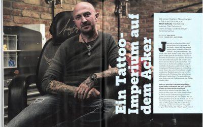 Andy Engel im TätowierMagazin – Ausgabe 3 – 2017