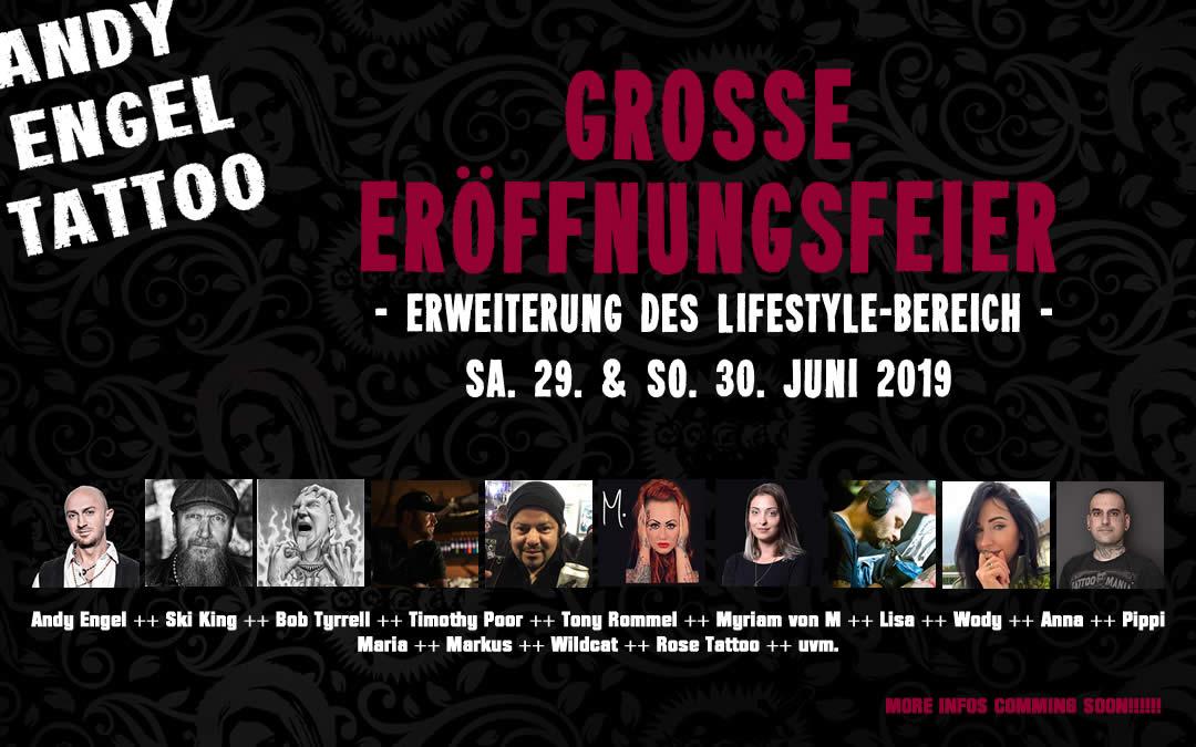 GROSSE ERÖFFNUNGSFEIER Sa. 29. & So. 30. Juni 2019
