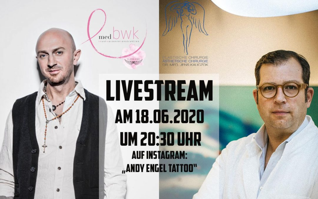 Live-Stream am 18.06.2020 um 20:30 Uhr mit @dr.kauczok und Andy Engel